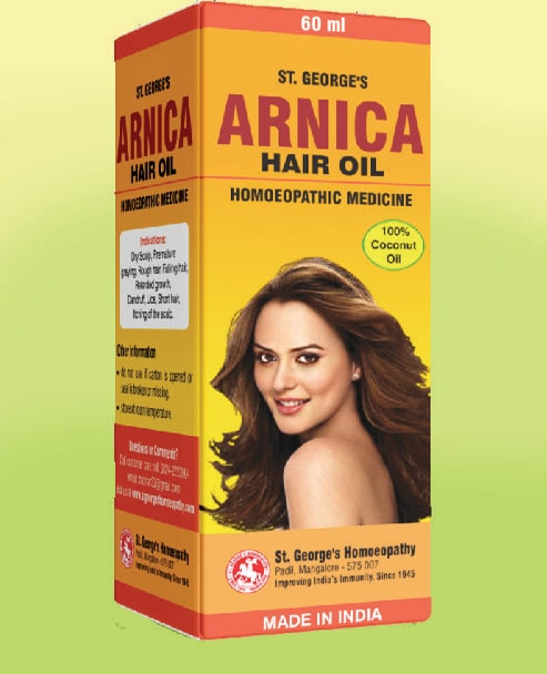 ARNICA HAIR OIL - No.1-60ml