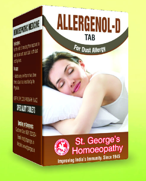 ALLERGENOL-D TAB FOR DUST ALLERGY