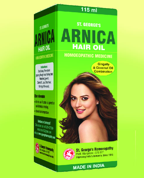 ARNICA HAIR OIL - No.2-60ml