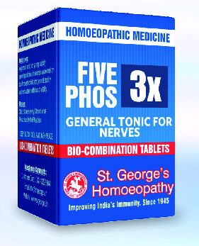 FIVE PHOS 3X GENERAL TONIC FOR NERVES