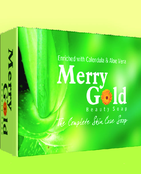 MERRY GOLD SOAP - Green