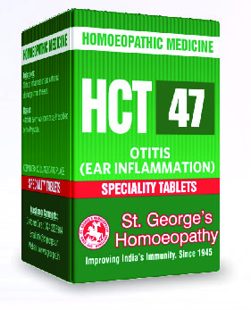 HCT 47 OTITIS (EAR INFLAMMATION)