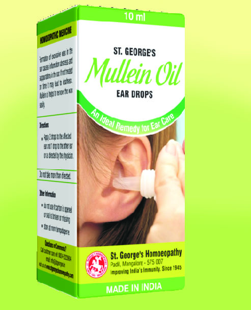 MULLEIN OIL Ear Drops