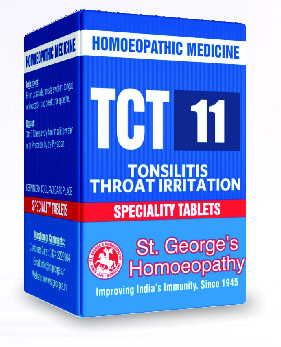 TCT 11 TONSILITIS THROAT IRRITATION